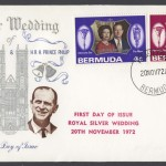 1972 Royal Silver Wedding Stuart FDC