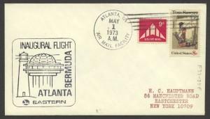 1973 Eastern Airlines Atlanta Bermuda First Flight
