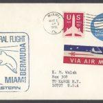 1973 Eastern Airlines Miami Bermuda First Flight