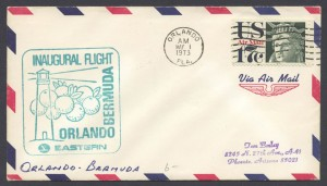 1973 Eastern Airlines Orlando Bermuda First Flight