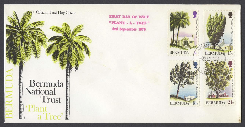 1973 Plant-a-Tree FDC