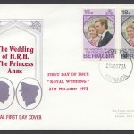 1973 The Wedding of HRH The Princess Anne FDC