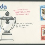 1975 World Bridge Championship FDC