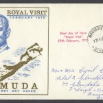 1975 Royal Visit FDC