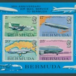 1975 50th Anniversary Air Mail MS