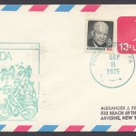 1975 First Flight American Airlines Bermuda from Philadelphia FF