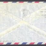 1975 First Flight American Airlines Bermuda from Philadelphia reverse FF