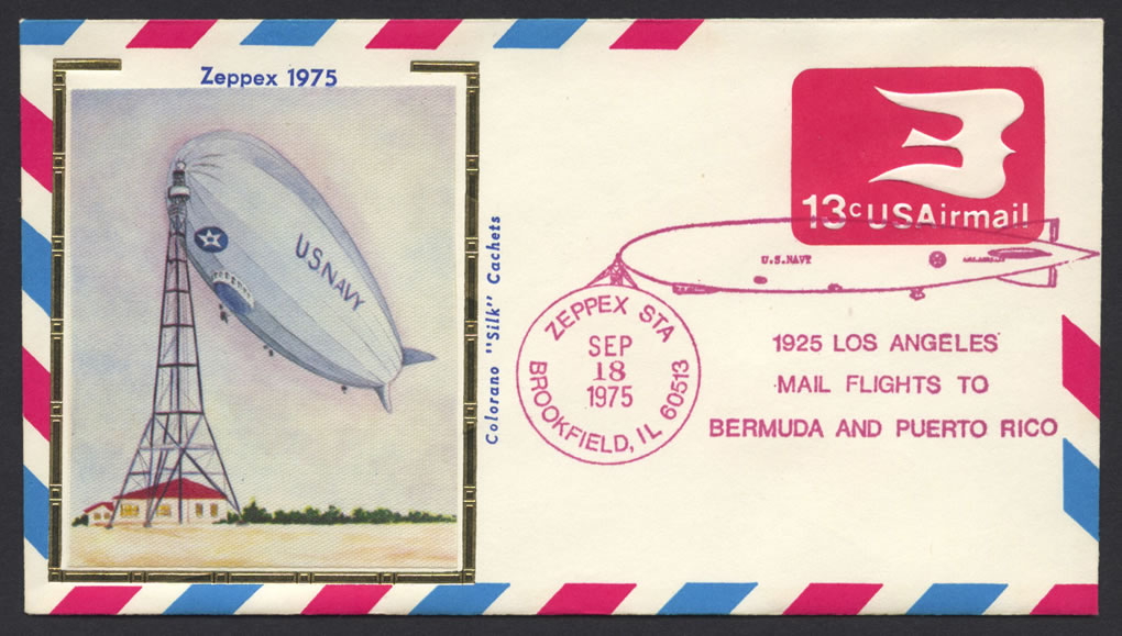 1975 Zeppex Commemorative Cover
