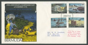 1975 200th Anniversary Gunpowder Plot FDC