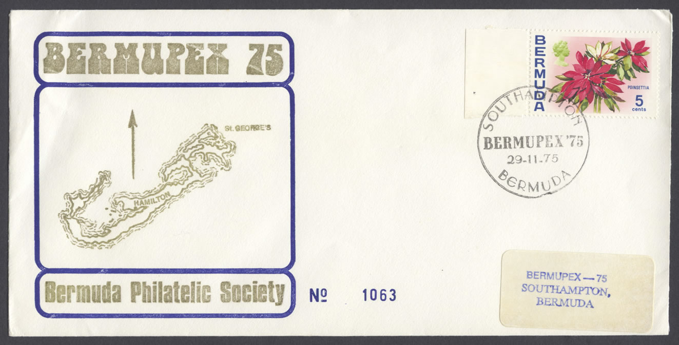 1975 Bermupex 75 Commemorative Cover