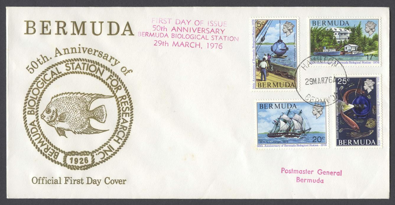 1976 Bermuda Biological Station FDC