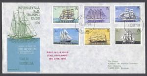 1976 Tall Ships Race Winston Churchill FDC