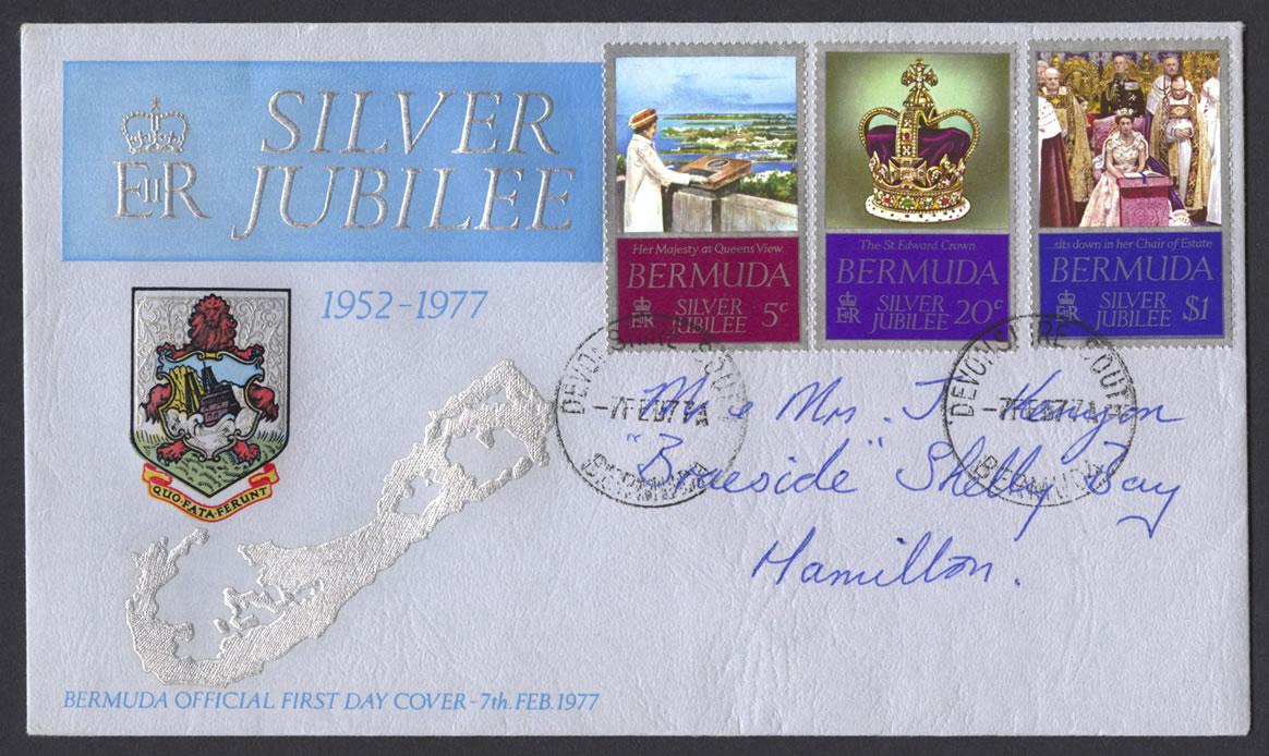 1977 Silver Jubilee FDC
