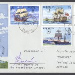 1977 Bermuda Piloting Signed PMG FDC