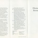1977 Bermuda Piloting Insert FDC
