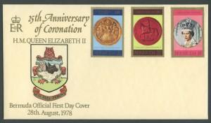 1978 25th Anniversary of the Coronation FDC