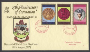 1978 25th Anniversary of the Coronation PPO FDC