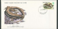 1979 WWF Skink 15c definitive FDC
