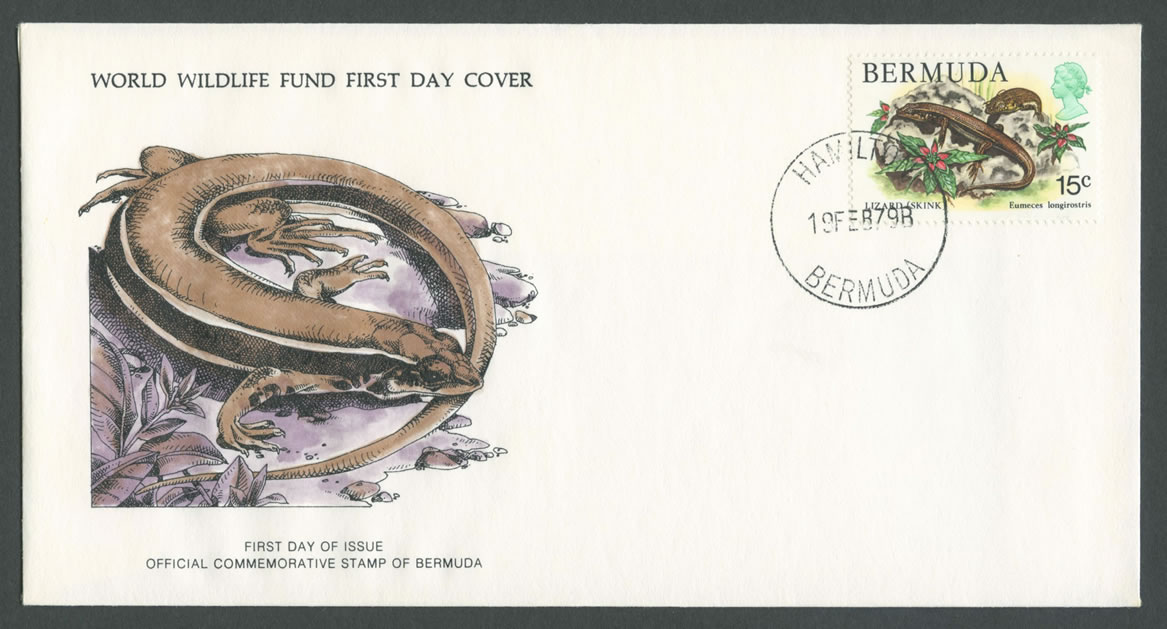 1979 WWF Skink definitive FDC