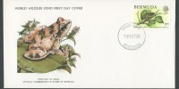 1979 WWF Whistling Frog FDC