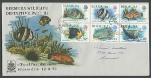 1979 Bermuda Wildlife Definitive Pt III