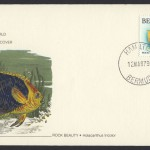 1979 Flora and Fauna National Audobon Society Rock Beauty FDC
