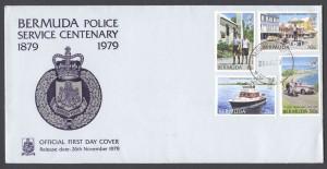 1979 Bermuda Police Service Centenary FDC
