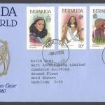1980 Bermuda Miss World FDC