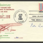 50th Anniversary First Plane Mail to Bermuda CC