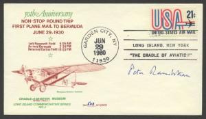 50th Anniversary First Plane Mail to Bermuda CC