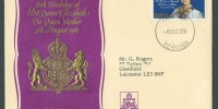 1980 Queen Mother 80th Birthday FDC