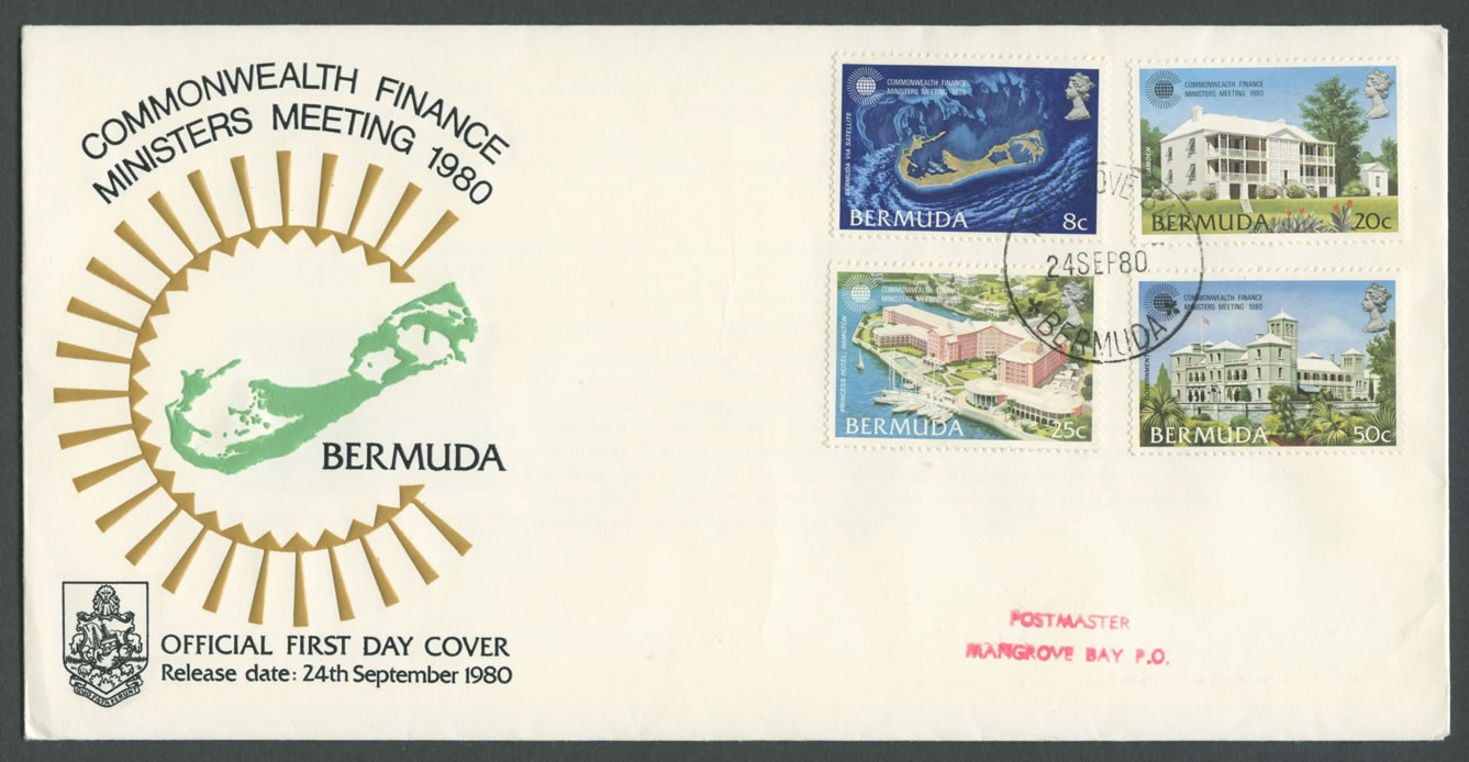 1980 Commonwealth Finance Ministers meeting FDC