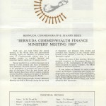 1980 Commonwealth Finance Ministers Meeting insert FDC