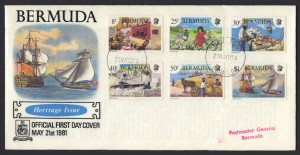 1981 Bermuda Heritage Issue FDC