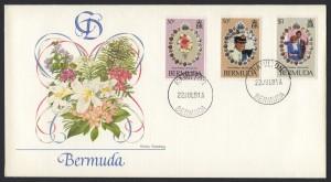 1981 Royal Wedding Charles and Diana Fleetwood FDC
