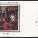 1981 Royal Wedding Charles and Diana $1 Benham FDC