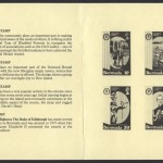 1981 The Duke of Ediburgh's Award insert reverse FDC