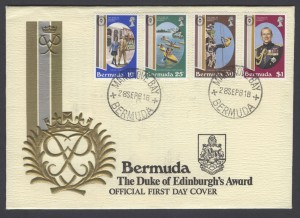 1981 The Duke of Ediburgh's Award FDC