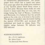 1982 Bermuda Shells definitives insert FDC