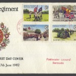 1982 Bermuda Regiment FDC
