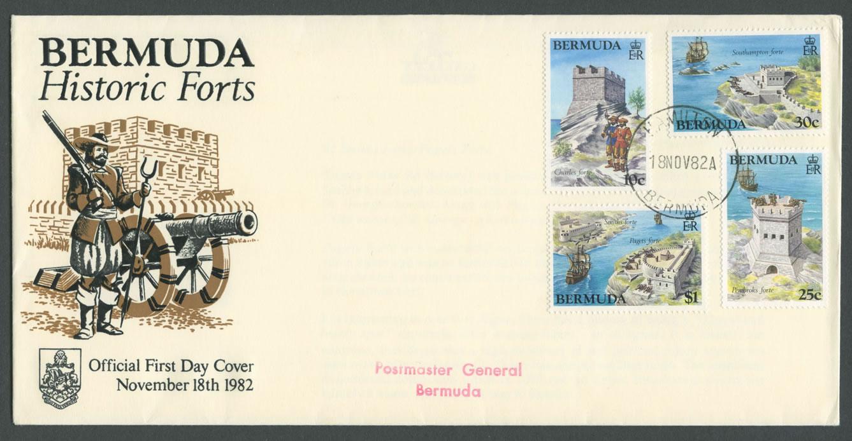 1982 Bermuda Historic Forts FDC