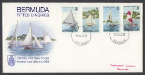 1983 Bermuda Fitted Dinghies FDC