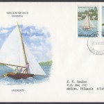 1983 Bermuda Fitted Dinghies 30c and 40c FDC