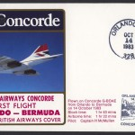 1983 BA Concorde Orlando to Bermuda First Flight