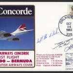 1983 BA Concorde Orlando to Bermuda Signed First Flight