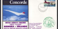 1983 British Airways Concorde Bermuda to Orlando First Flight