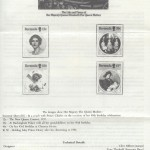 1985 Life and Times of the Queen Mother insert reverse FDC