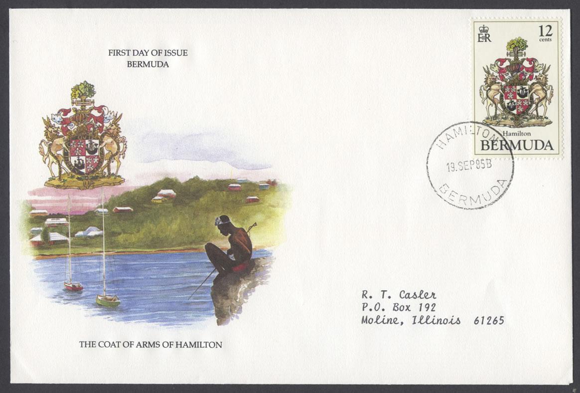 1985 Bermuda Coat of Arms Part 3