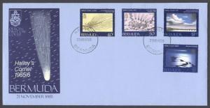1985 Halley's Comet 1985/6 FDC