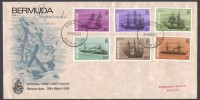 1986 Bermuda Shipwrecks Part II FDC